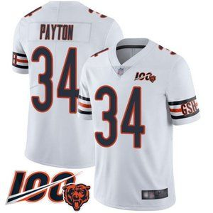 Men's Chicago Bears Walter Payton 100th Jersey